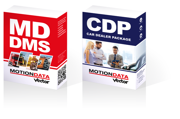 MOTIONDATA DMS & Car Dealer Package CDP