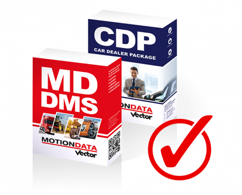 MOTIONDATA DMS & Card Dealer Package CDP