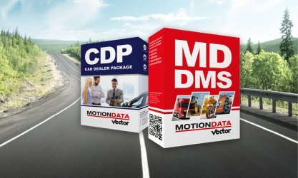 MOTIONDATA DMS und Car Dealer Package CDP