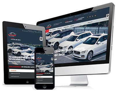 MOTIONDATA VECTOR Autohaus Demo-Website